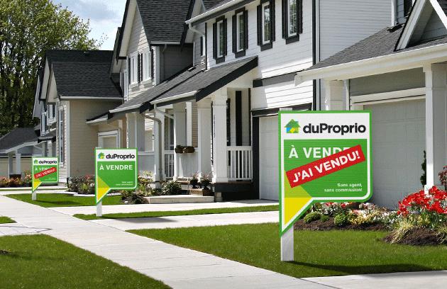 Propriétés déclarées vendues sur DuProprio.com