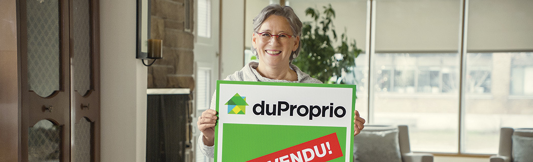 Cliente satisfaite DuProprio - J'ai vendu sans commission